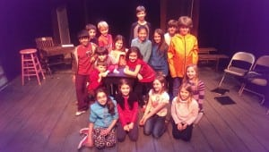 The cast for The Trial of Goldilocks