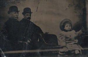 """AveryyoungWilliamBennettispicturedhereholding""""thecarrot""""circa1903. (PhotocourtesyoftheHamelfamily)"""