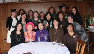 Members of the West Point Ladies' Reading Club at a recent gathering (photo provided).