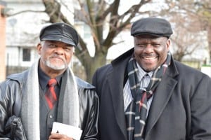 Alvin Bell Sr. and Jr. attended Beacon's MLK Day together.