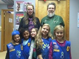 Girl Scout Daisy Troop vet visit