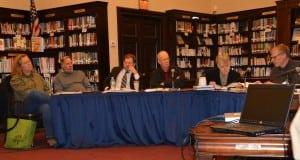 ThePhilipstownPlanningBoard,fromleft:KimConner;PeterGiachinta;NealZuckerman;AnthonyMerante,chairperson;MaryEllenFinger;DaveHardy