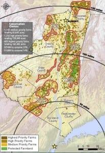 Mapshowingfarmlandconservationpriorities (courtesy Scenic Hudson)