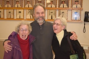 Marie Early, Dave Merandy and Fran Murphy were all smiles when the results were announced.
