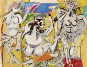 """WillemDeKooning's""""Untitled(ThreeWomen)""""isnowavailableatVassar'sneweMuseumonline."""