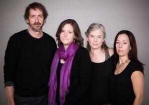 LaminatedMenu'sline-up(lefttoright):NealSantelmann,JenniferPaull,SophiaJackson,MargaretHundleyParker