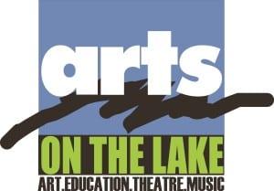 Arts on the Lake Logo blue jpeg
