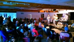 The multipurpose main room at Arts on the Lake is home to many concerts throughout the year. (Photo provided)