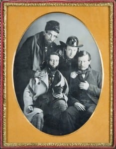 The Wild Bunch, 19th-century half-plate daguerreotype