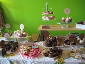 A display of sweets at 2014's For Goodness Bake sale in Beacon (file photo)