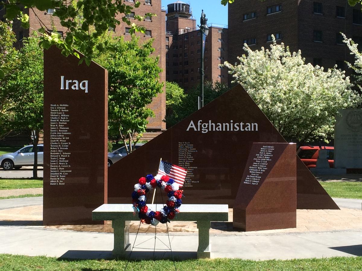 buffalo war memorial