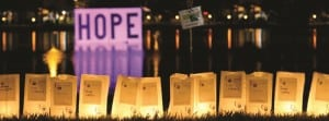 Luminaria bags lit for lives lost to cancer at Relay for Life