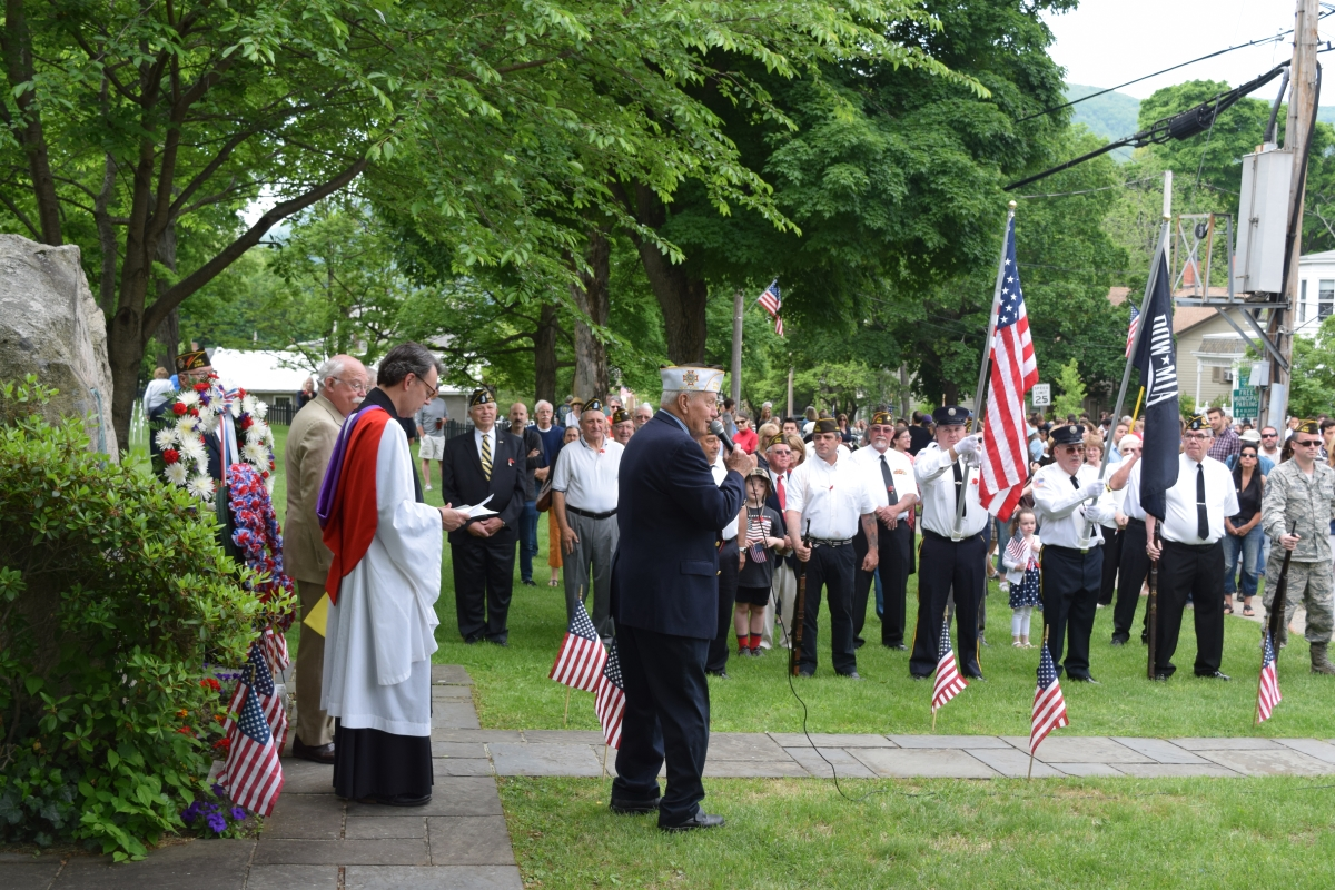 Memorial Day Ceremony '15