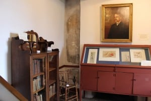 Much of the period furnishings was donated by present-day Verplanck family members.