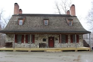 Mount Gulian homestead, built originally circa 1730–40
