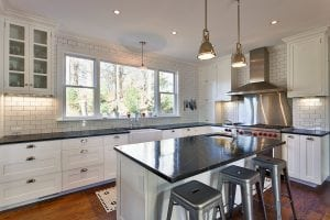 Kitchen design by Ptacek Homes (Photo by Robert Rodriguez Jr.)