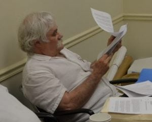 Richard Weissbrod at a 2013 Cold Spring Planning Board meeting (file photo)