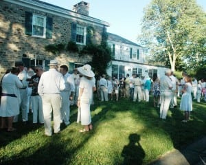 The 2011 Putnam History Museum lawn party occurred at Glynwood, an organization cited by Philipstown Supervisor Richard Shea as a potential beneficiary of a proposed law on permits for gatherings. File Photo by L.S. Armstrong