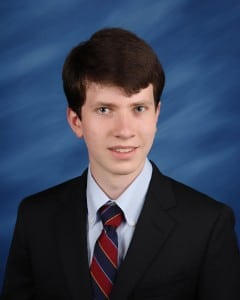 Haldane 2015 Salutatorian Wylie McDonald; photo courtesy Haldane School