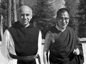 Merton and  the Dalai Lama in Nov. 1968 (Photo courtesy Duckworks,Inc.)