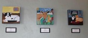 """""""Mousey""""byShayKane,age6('MywishisthatMouseygetsawarmandcozycatbedandareallyniceowner'),left,""""Bonnie""""byChristineRobinson,age6('MywishforBonnieistohavethebesthomewithchildrentoloveherandplaywithher'),and""""Marvin&Oliver""""byCamillePahucki,age10('MywishforMarvinandOliveristhattheyfindahomewheresomeonespoilsthemwithtoysandlove')"""