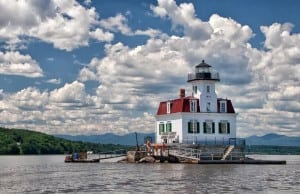 Esopus Meadows Lighthouse (Photo by John Deines)