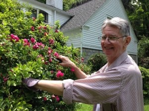 Richard Szypula's roses were originally planted by his family nearly 100 years ago.