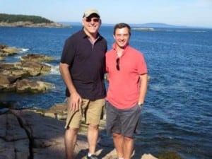 Matt Francisco and Joe Patrick