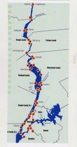 TheRiverkeeperreportincludesamapshowingwater-samplinglocations.