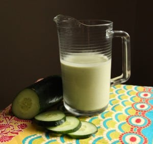 Cool off with a splash of cucumber avocado soup.
