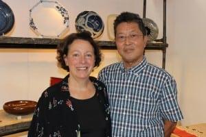 Zakkaya'sco-owners,MaryMcHughandHiroshiMiwa