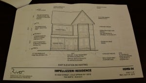The plans for the new Impellizzeri home