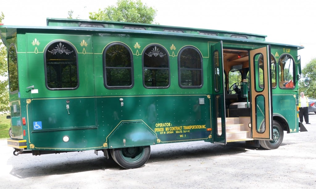 Trolley at Mount Beacon
