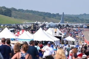 The air show drew large crowds on both Saturday and Sunday, Aug. 29 and 30.