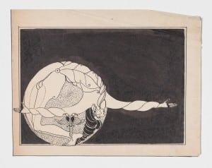 UntitleddrawingbyMaryWright,circathemid-1920s(photoprovided)