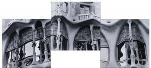 "Photographs by Lucille Tortora: ""Casa Batllo, Barcelona, Spain, 2005."" Click to enlarge. (Image courtesy of the artist)"