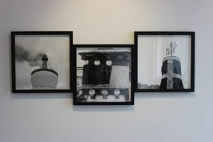 Photographs by Lucille Tortora, on exhibit at Buster Levi Gallery (Photo by A. Rooney)