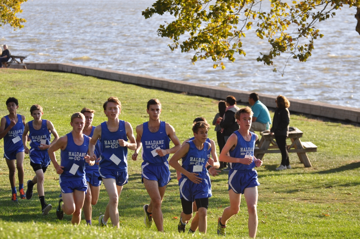 Haldane Cross Country competes in Croton Point Park Invitational on Tuesday October 20th