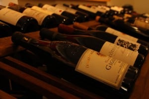 Artisan Wine Shop stocks a broad range of French wines.  (Photo by M.A. Ebner)