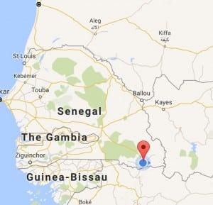 DarSalaamislocatedinsouthernSenegal,neartheborderwithGuinea(GoogleMaps)