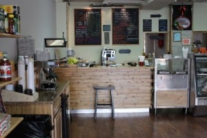 The newly renovated interior of Nelsonville Deli and Cafe (Photo by A. Rooney)