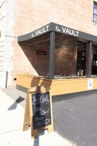 The Vault, on Main Street in Beacon (photo by A. Rooney)