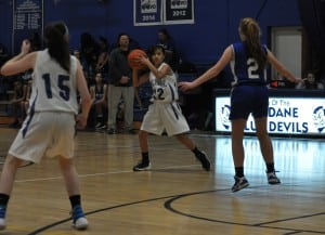 Haldane girls basketball