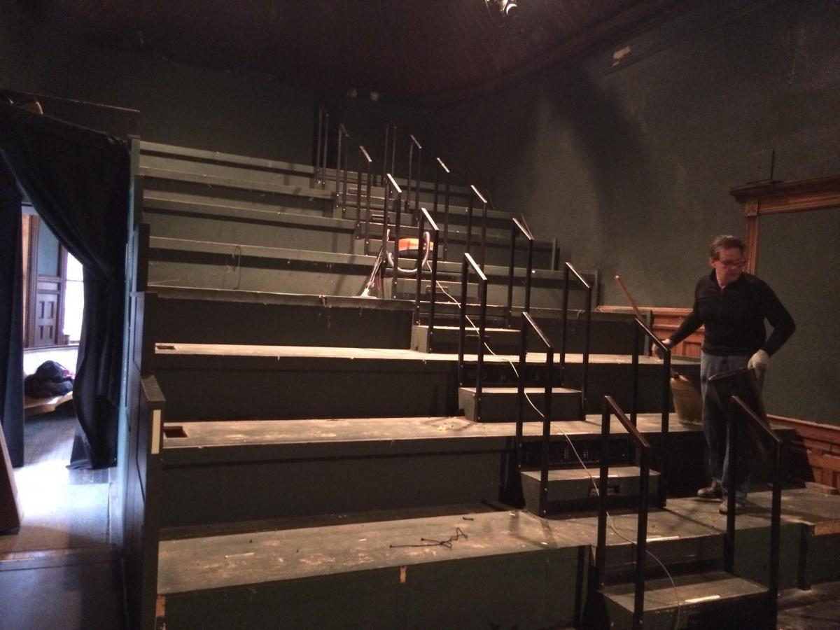 Depot Theatre minus chairs