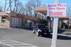 The Dunkin Donuts on Route 9D in Cold Spring (photo by M. Turton)
