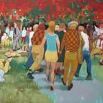 A Sunday in the Park with George, an oil painting by George Knaus (courtesy Lisa Knaus)