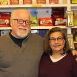 Greg and Lynn Miller, proprietor of Go-Go Pops. (Photo by A. Rooney)
