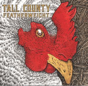 """ThecoverofTallCounty'snewalbum,""""Featherweight,""""wasdesignedbyMatthewChaseofPhilipstown."""
