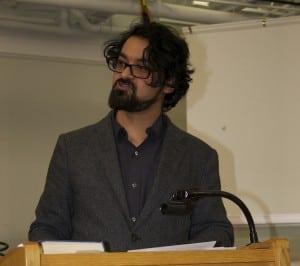Hasan Azad (photo by K.E. Foley)