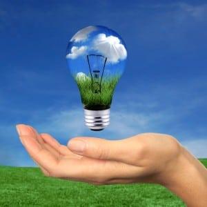 renewable energy bulb green environment